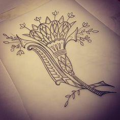 egyptian flower designs tattoos - Google Search