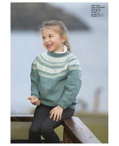 Ester-genser - Viking of Norway Baby Barn, Fair Isles, Sweater Knitting Patterns, Norway, Turtle Neck, Sweaters, Kids, Fashion, Tunic
