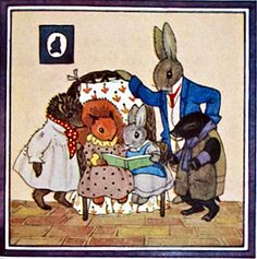 The Speckledy Hen - Little Grey Rabbit book by Alison Uttley, illustrated by Margaret Tempest