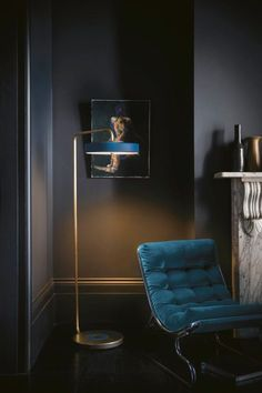 Dark and moody color pallet inspiration using farrow and ball salon drab @_vthome_