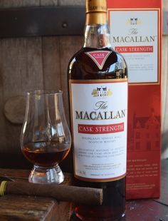 TASTING & REVIEW: MACALLAN CASK STRENGTH - speyside scotch whisky
