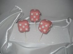 BUNCO cake pops