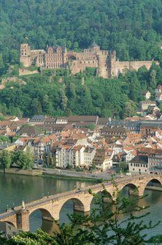 Stadtausflug nach #Heidelberg im #Frühling #Städtetrip