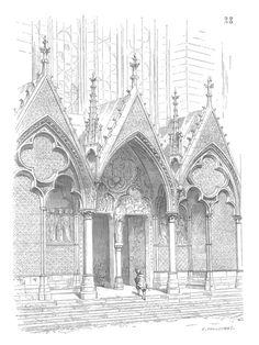 องค์ประกอบสถาปัตยกรรมกอธิค(lancets)