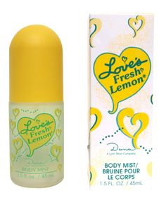 Everyone else loved Love's Baby Soft. I don't know why I wanted to smell like a lemon instead! My favorite perfume!