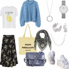 Blå mandags tøj Modetrends Sommer Das sind die Fashion Must-havesFlare bukser lys beigeCute dresses with pockets: Off! Teenage Outfits, School Outfits, Boho Fashion, Fashion Outfits, Womens Fashion, Style Me, Your Style, Denmark Fashion, Dress Me Up