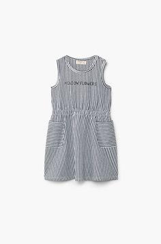 Mango Kids - Dievčenské šaty Marta 80-104 cm svetlosivá 5921-SUG02H   ANSWEAR.sk