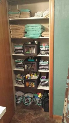 Closet organized Thirty One style