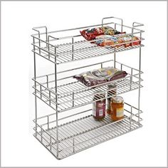 3 SHELF ORGANISER  SKU: SO-3(W)  Categories: Kitchen Organizers,   Products, PULLOUTS  Tag: 3 SHELF ORGANISER