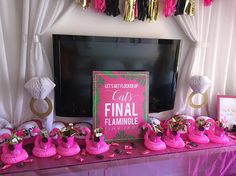 There are plenty of fun bachelorette party ideas that you can implement into your bash. Let the bride get wild one last time before her big day. Classy Bachelorette Party, Bachelorette Party Planning, Bachlorette Party, Bachelorette Gifts, Bachelorette Party Decorations, Bachelorette Weekend, Fiesta Shower, Flamingo Party, Mo S