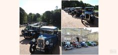 Classic Austin 7's on display at Culzean Castle over the weekend.  #bringingbackabygoneage