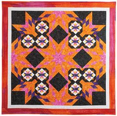 One Stitch at a Time  Designed and quilted by nancy McNally