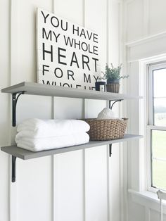26 ideas bathroom white tiles house tours for 2019 White Bathroom Tiles, White Subway Tiles, Bathroom Sinks, Master Bathroom, Crazy Home, The Way Home, Farmhouse Lighting, Small Furniture, Walk In Shower