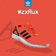 Take it to the next level with the #zxflux. Rooted in the adidas Originals formula, these kicks champion the power of the ZX DNA, pushing forward and turning heads.