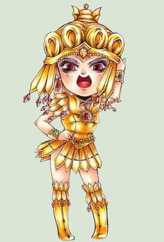 Sailor Galaxia Chibi [Sailor Moon Project] by chaseau.deviantart.com on @deviantART