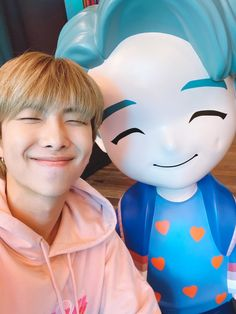 Namjoon in the House of BTS!