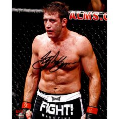 Stephan Bonnar Ultimate Fighting Championship Fanatics Authentic Autographed 8'' x 10'' Against Cage Photograph - $23.99