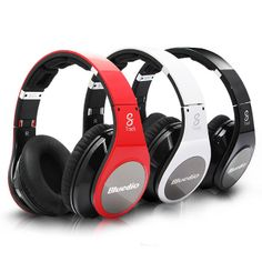 Bluedio R Wireless Bluetooth Stereo Headset with Subwoofer.8 speakers with mp3 and surround 3D sound #headphones