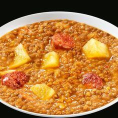 Lentejas con chorizo: Un plato clásico y tradicional, hecho con buen producto, una garantía de éxito. #lentejas #tradicional #receta