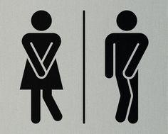 35 New Ideas bathroom door signage etsy Bathroom Doors, Bathroom Humor, Bathroom Signs, Funny Toilet Signs, Funny Signs, Image Wc, Sign Image, Wc Icon, Toilet Symbol