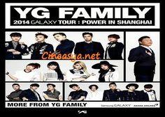 Yg Famıly 2014 Galaxy Tour Power In Shangaı Konserleri Başlıyor | Asya,Güney Kore Tv ve Sinema Dünyasi