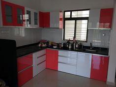 23 best l shaped modular kitchen images contemporary kitchen rh pinterest com