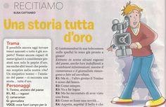 """""""Una Storia tutta d'Oro"""" con trama e dialoghi in Predazzano"""