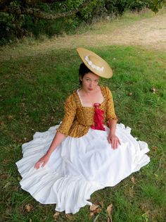 Tutorial: How to turn a straw sunhat into an 18th century bergére – The Dreamstress