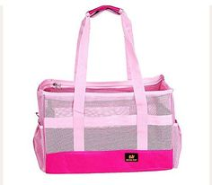 Pet Leso Dodopet Cat Travel Carrier Doggie Soft Sided Carriers Tote Bag Puppy Handbag Breathable Pink  S *** For more information, visit image link.