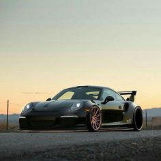 Gorgeous #Porsche against the sunset. #SportsCar #Speed #Power #Style #Design #Cool