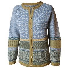 Fair Isle Knitting Patterns, Knitting Machine Patterns, Pull Jacquard, Norwegian Knitting, Knit Fashion, Free Knitting, Knit Cardigan, Bunt, Knitwear