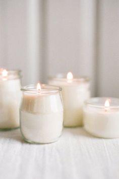 Inspiración white: candles