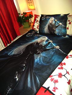 Kuroshitsuji Undertaker Art Blanket large by BishiCentral on Etsy, $54.99