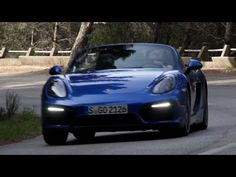 Video: Porsche Boxster GTS driven - YouTube