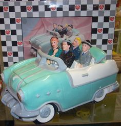 """I Love Lucy cookie jar """" California here we come"""" ~ $225.00"""