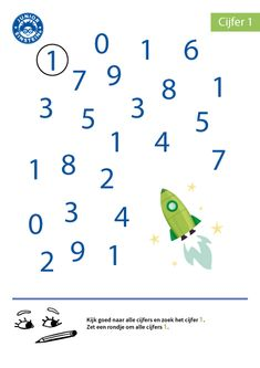 Numbers For Kids, Numbers Preschool, 3 Year Old Activities, Preschool Activities, Kindergarten Math Worksheets, Teaching Math, First Fathers Day Gifts, Pre Writing, School Readiness
