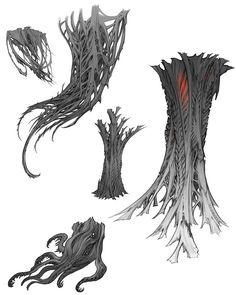 Landscape Concept, Fantasy Landscape, Fantasy Art, Environment Concept Art, Environment Design, Visual Development, Environmental Art, Dark Art, Art Sketches