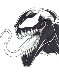 """Venom – More from my site Klicke um das Bild zu sehen. Fish tattoo – Das ist meine Zeichnung, eh Neue Schule Just another character… A rasta character « """"Z"""" letter Creepy Drawings, Marvel Drawings, Cool Art Drawings, Pencil Art Drawings, Art Drawings Sketches, Cartoon Drawings, Cartoon Art, Drawing Cartoon Characters, Spiderman Kunst"""