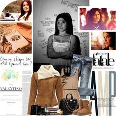 """Brooke Davis | Not good enough"" by marina-pierce ❤ liked on Polyvore"