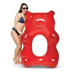 Giant gummy bear pool float
