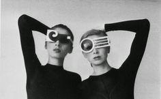 vintage everyday: Retro Unique Sunglasses from 1960s