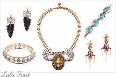 LULU FROST 100 YEAR COLLECTION    Knitted Lovelies and Sparkling Rocks - Stuff We Love in February   One ...
