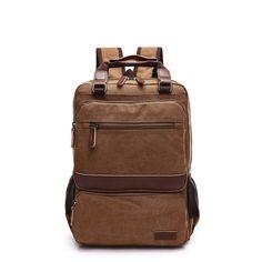 2016 New Man Canvas Backpack Woman Men solid Travel Backpacks for Teenage Girls Boys School Bags backpack mollicha LI-1344