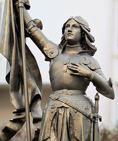 """Jeanne d'Arc: You have called me """"whore"""": I pity your soul and the souls of your men."""