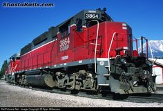 RailPictures.Net Photo: CORP 3864 Central Oregon & Pacific Railroad EMD GP38-2 at Weed, California by Ryan Wilkerson