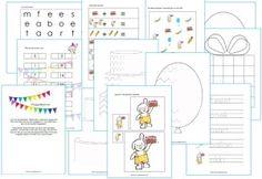 Werkbladen Kinderboekenweek thema feest kleuters rondom het boek 'Rikki is jarig'. Childrens Books, Bullet Journal, Education, Teaching Ideas, Water, Carnival, Art, Children's Books, Water Water