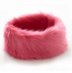 Pink fur hat www.a-dee.com