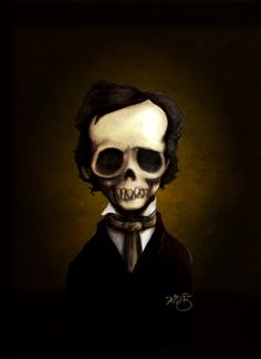 165th Anniversary of Poe's Death [by David G. Forés]