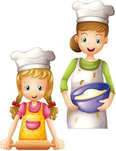 View album on Yandex. School Labels, School Clipart, Cooking With Kids, Girl Cooking, Cartoon Images, Cartoon Characters, Cute Art, Decoupage, Kindergarten
