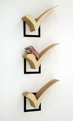 27 originálních nápadů pro knihovnu :http://www.4myhome.cz/27-originalnich-napadu-pro-knihovnu/